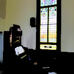 window and organ