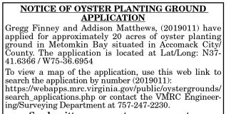 Oyster Planting Ground